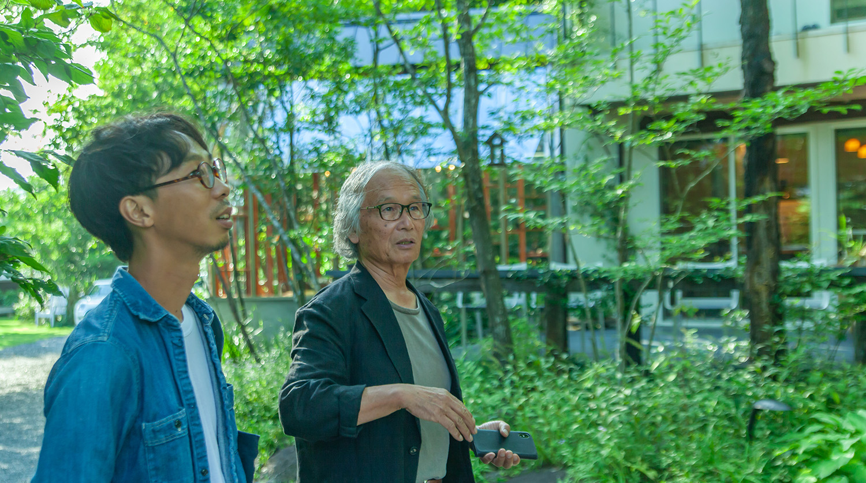 MIGIWA・住谷弘法さんと歩く「野間の森」
