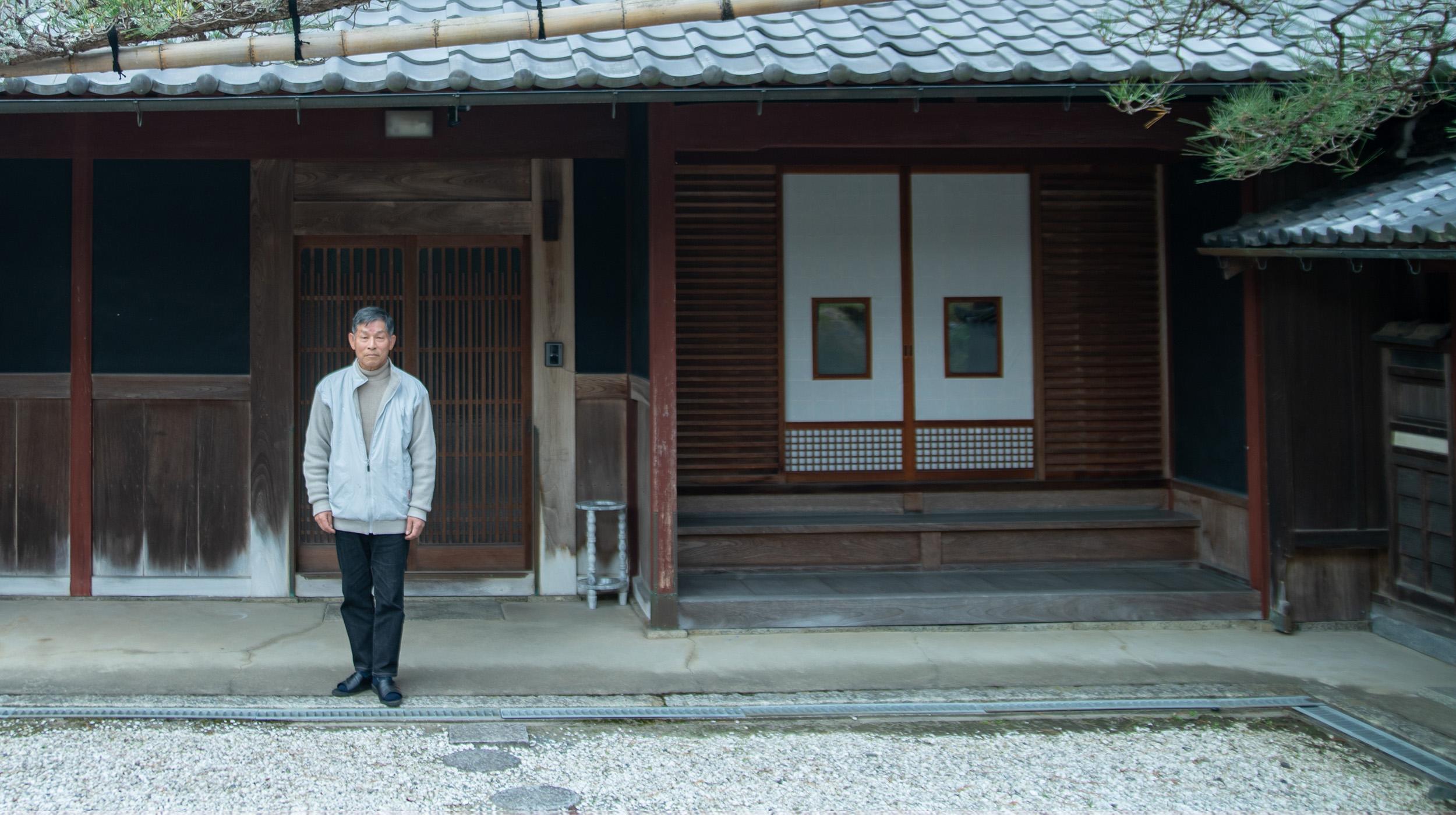 かつて能勢街道沿いにあった天然高野豆腐工場の話 谷林喜久治さん