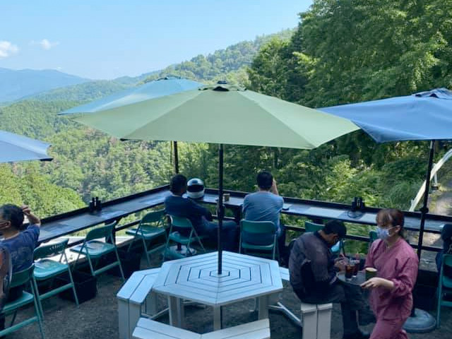 ほんたき山のカフェ