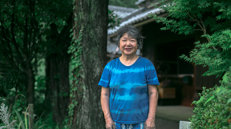 風土と人が生み出す色を求めて。 「染めどころ ゆう」山本有子さんが染める能勢の色。